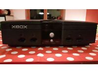 Xbox Original Console Plus One Game