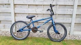 X-Rated Hustle BMX, Blue, 360 Deg Gyro Handlebars, Good Condition