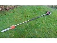 Husqvarna long reach pole pruner / chainsaw