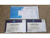 2x Tickets for BRITNEY SPEARS at the O2 on Saturday 25th August @ FACE VALUE!!