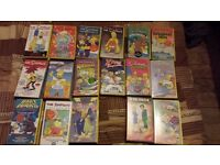 Simpsons VHS collection
