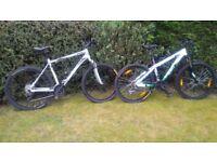 Bike GIANT ALUXX 6000 and SCOTT VOLTAGE YZ35