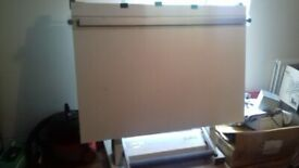 Bradbury Molin 2.20 Drawing board, Board size is 1270 x 900