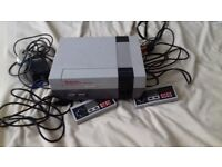 nintendo nes all leads 2 controllers