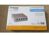 NETGEAR GS105Ev2 5-Port Gigabit