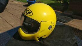 Roof Boxer motorbike helmet. Modular flip type.