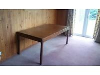 Large Solid Dining Table For Sale