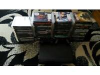 Sony ps3 500gb 65 games,2 controllers