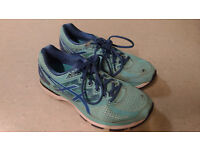 Asics GT 2000-4 T656N Blue Running Trainers Shoes UK Women Size 8