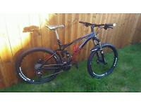 Merida one forty full suspension