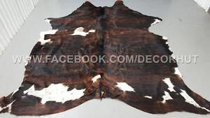Brazilian Cowhide Rug Perfect For Rugs, Home Staging, Interior Designing Or Upholstery Also Free Shipping