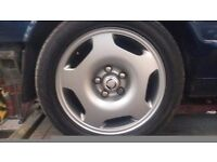 Jaguar xjr xjr6 supercharged alloy wheels