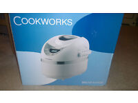 Cookworks XBM1128 Breadmaker 600W - White and Silver