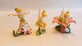 Set of Disney Tinkerbell Figurines