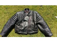 Ladies Leather Motorcycle Jacket by JTS Excellent Quality