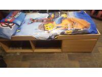 Child / kids cabin bed low sleeper. Excellent condition. Great Storage