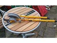 Plumbers pipe bender