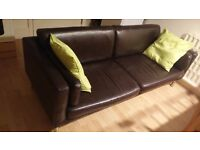 Leather Sofa - URGENT TO SELL