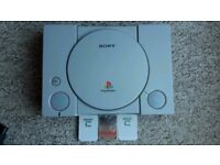 Playstation 1 Console Bundle, 11 Games, 2 Controllers