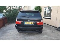 BMW x5 3.0 petrol Sport Reduced to sell