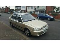 2000 Hyundai Accent 1.3 GSI Automatic 11 Months MOT Cheap Little Auto Car Not Getz Matiz Matrix