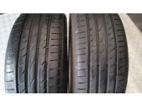205 55 16 2 x tyres Roadstone Nfera SU4