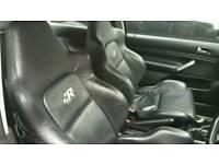 Vw Golf Mk4 R32 koenig Black Leather Seats 3dr