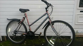 MENS AND LADIES RALEIGH ATB BIKE WITH LOCK £45 EACH