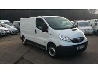 2012 / 62 PLATE Vauxhall Vivaro 2.0 CDTi 2700 Panel Van 4dr ( SWB CREW VAN 5 SEATS ) NO VAT NO VAT