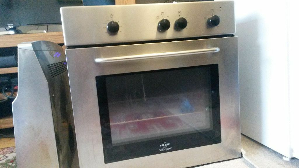 integrated single oven grill whirlpool for ikea bargain in brixton london gumtree. Black Bedroom Furniture Sets. Home Design Ideas