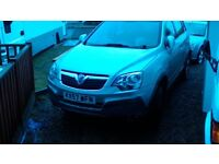 silver vauxhall antara spares or repair needs engine deisil 1900 cc excellent other than that