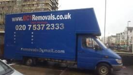 Mercedes 313 removals van ally body