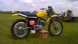 AJS Stormer 410, classic bike, twin shock, two stroke, scrambler