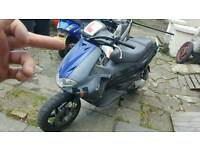 Gilera runner reg as 50cc with 70s kit