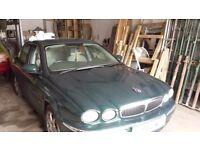 Jaguar x type 52 reg green breaking