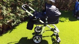 "Icandy ""Apple"" pram/ travel system with extras"