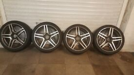 Wheels to fit Audi A4