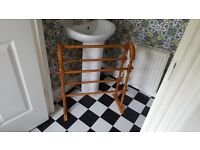 Vintage Retro StyleCountry Cottage Style Pine Towel Rail
