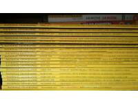 National Geographic set of 20 issues