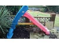 Child's little tykes slide