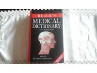 Black's Medical Dictionary, 41st edition, like new.