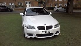Bmw 3 series 320d M-sport, coupe, 13 plate
