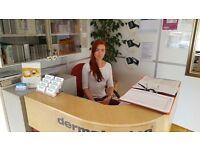 Receptionist required - Clapham Junction