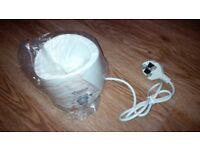 Baby bottle warmer/food, steriliser & BT baby monitor