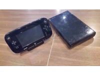 Nintendo Wii U Console Premium Black 32GB For Sale & Collection Only.