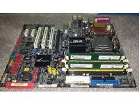 motherboard ASUS P5AD2-E Premium LGA 775 Intel 3.8Ghz