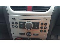 Vauxhall corsa cd player 2005