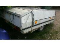 ++NR NIMROD OR CONWAY CDL 90 TRAILER TENT NOT USED MUCH SPARES REPAIRS++