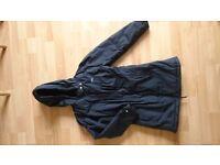 Girl's age 7-8 waterproof winter coat