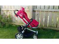 Quinny buzz 3 buggy and carrycot